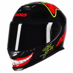 CAPACETE AXXIS EAGLE MG16 CELEBRITY EDITION BY MARIANNY VERMELHO