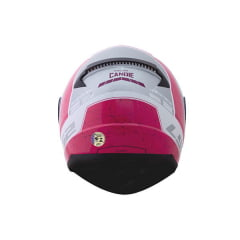 CAPACETE LS2 FF353 RAPID CANDIE BRANCO/CINZA/ROSA