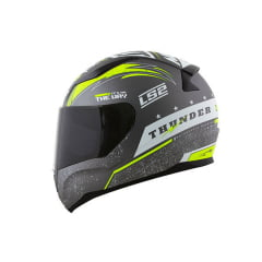 CAPACETE LS2 FF353 THUNDER CINZA