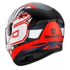 CAPACETE SHARK D-SKWAL 2 ZARCO 2019 MAT OWB