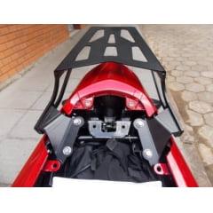BAGAGEIRO CB 500 F 2015 PRETO FOSCO CHAPA CHAPAM