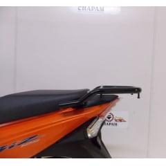 BAGAGEIRO MODELO TUBULAR P/ HONDA BIZ 125 2018/BIZ 110 2020 PRETO - CHAPAM