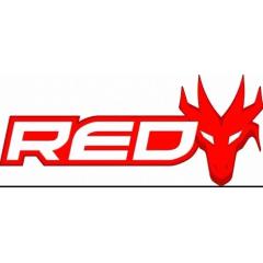 "FILTRO DE COMBUSTÍVEL RED DRAGON MOTO 1/4"" - 2"" LONG VERDE"
