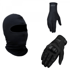 KIT X11 FEMININO - BALACLAVA, LUVA BLACKOUT E LUVA THERMIC