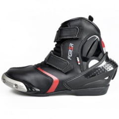BOTA FORZA SHORT RIDER BLACK/RED